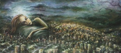 Sleeping-city-oil-on-paper-Marnie-Pitts-e1410131016327
